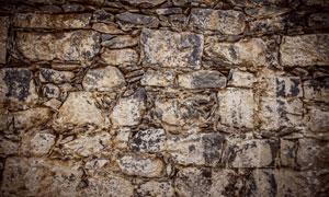 用石头浇筑的墙壁纹理背景高清图片