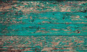 掉漆严重斑驳效果木板纹理高清图片