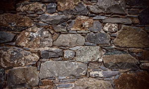石头砌成的墙纹理背景摄影高清图片