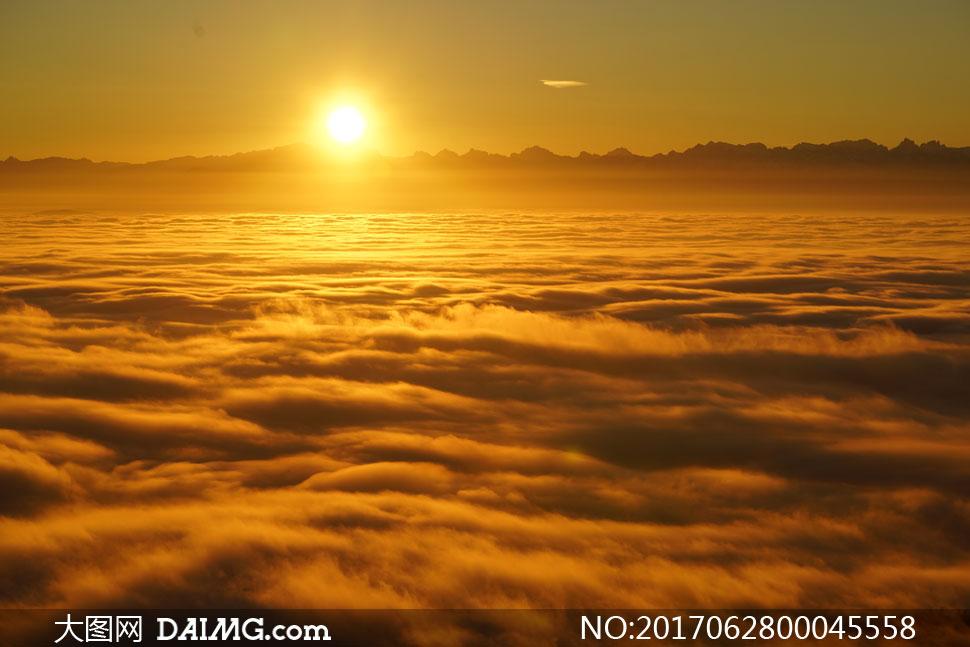 日出云海美丽风景摄影图片 - 大图网设计素材下载