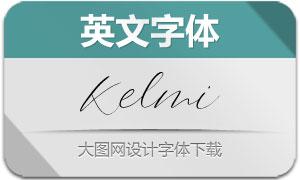 Kelmi-Regular(英文字体)
