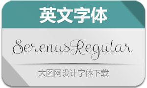 SerenusRegular(英文字体)