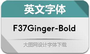 F37Ginger-Bold(英文字体)