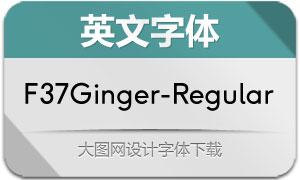 F37Ginger-Regular(英文字体)