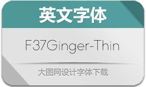 F37Ginger-Thin(英文字体)