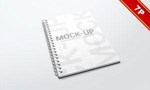 螺旋装订效果手册等产品贴图源文件
