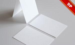 多种效果展示的名片贴图模板源文件