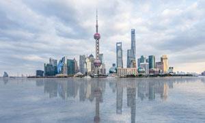 上海东方明珠建筑群摄影美高梅