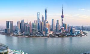 上海外滩建筑黄昏美景摄影美高梅