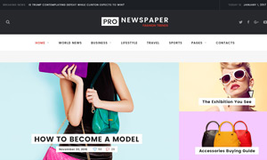 新闻报纸类网站页面版式设计源文件