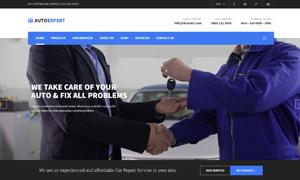 汽修保洁与工程园艺网站设计源文件