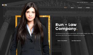 多种用途公司网站版式设计分层模板