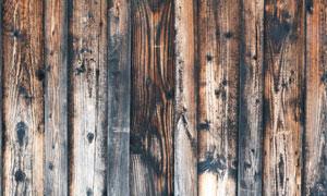 排列紧密颓废效果木板摄影高清图片