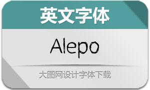 Alepo(英文字体)