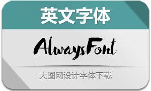 AlwaysFont(英文字体)