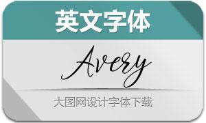Avery(英文字体)