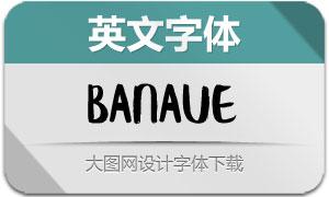 Banaue(英文字体)