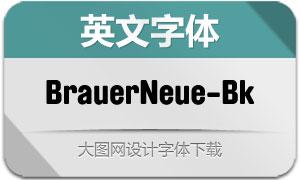 BrauerNeue-Black(英文字体)