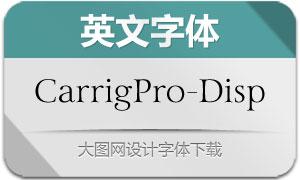 CarrigPro-Display(英文字体)