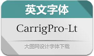 CarrigPro-Light(英文字体)