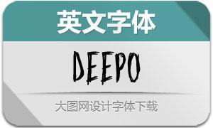 Deepo(英文字体)