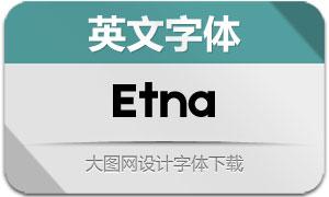 Etna(英文字体)