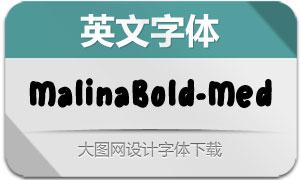 MalinaBold-Medium(英文字体)