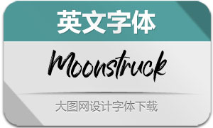 Moonstruck-Handwriting(英文字体)
