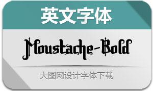Moustache-Bold(英文字体)