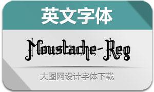 Moustache(英文字体)