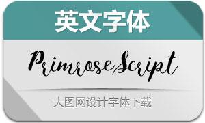 PrimroseScript(英文字体)