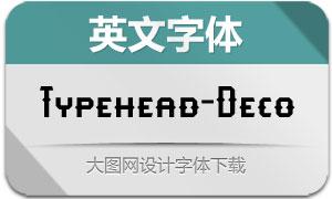 Typehead-Deco(英文字体)