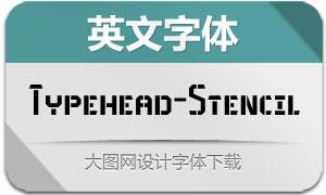 Typehead-Stencil(英文字体)