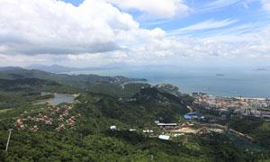 深圳大侠谷俯瞰全景摄影图片