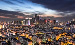 伦敦城市美丽夜景摄影图片