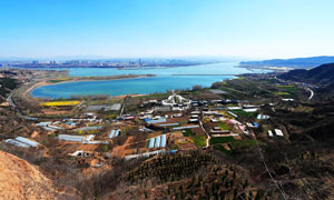 三门峡美丽全景摄影图片