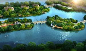 城市美丽公园景观设计图片
