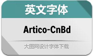 Artico-CondBold(英文字体)