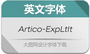 Artico-ExpandedLtIt(英文字体)