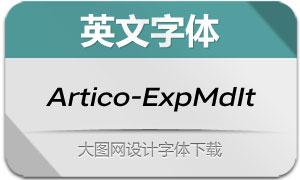 Artico-ExpandedMdIt(英文字体)