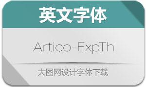 Artico-ExpandedThin(英文字体)
