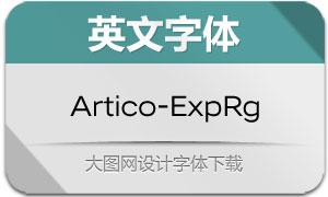 Artico-Expanded(英文字体)