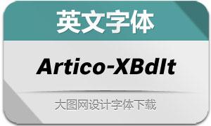Artico-ExtraBoldItalic(英文字体)