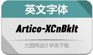 Artico-ExtraCondBlackItalic(字体)