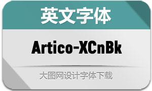 Artico-ExtraCondBlack(字体)