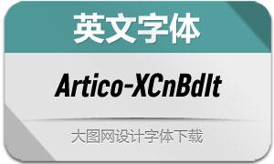 Artico-ExtraCondBoldIt(英文字体)