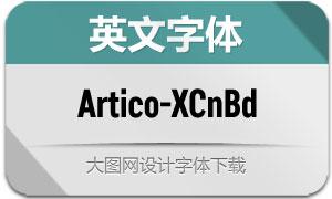 Artico-ExtraCondBold(英文字体)