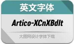 Artico-ExtraCondExBdIt(英文字体)