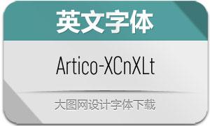 Artico-ExtraCondExLt(英文字体)