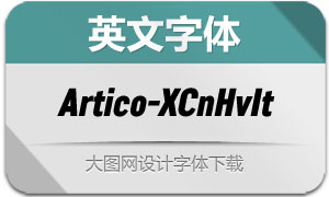 Artico-ExtraCondHvIt(英文字体)